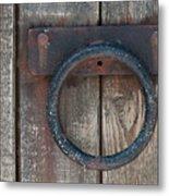 Ring Knock Metal Print by Dan Holm