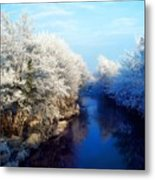 River Bann, Co Armagh, Ireland Metal Print