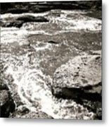 River Coming Your Way Metal Print