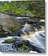 River Flow V Metal Print