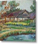 River Home  Minature Metal Print