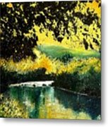 River Houille  Metal Print
