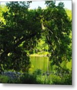 River In The Summer Metal Print