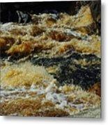 River On The Rocks IIi Metal Print