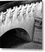 River Seine Bridge Metal Print
