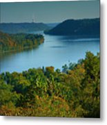 River View II Metal Print
