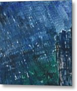 River Water Rains Metal Print