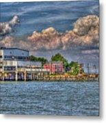 Riverboat On The Potomac Metal Print