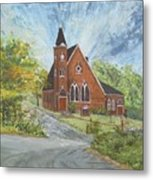 Riverton Church Metal Print