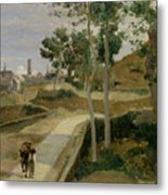 Road From Volterra Metal Print
