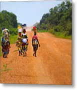 Road To Home Metal Print