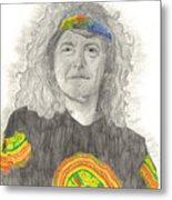 Robert Plant Metal Print