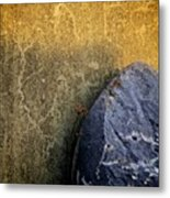 Rock And A Hard Place Metal Print