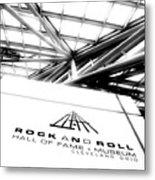 Rock And Roll Hall Of Fame Metal Print