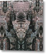 Rock Gods Elephant Stonemen Of Ogunquit Metal Print
