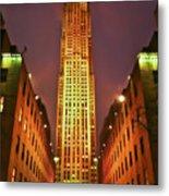 Rockefeller Center Metal Print
