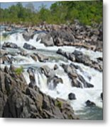 Rocks Of The Potomac Metal Print
