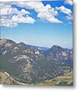 Rocky Mountain National Park Panoramic Metal Print