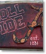 Roll Tide Alabama Metal Print
