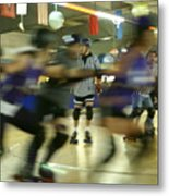 Roller Girls Metal Print