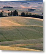 Rolling Hills Of The Palouse Metal Print