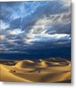 Rolling Sand Dunes Metal Print