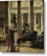 Roman Art Lover Metal Print