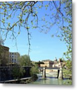 Rome's River Metal Print
