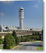 Ronald Reagan National Airport Metal Print by Brendan Reals