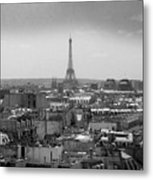 Roof Of Paris. France Metal Print by Bernard Jaubert
