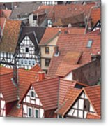 Roofs Of Bad Sooden-allendorf Metal Print