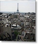 Roofs Of Paris. France Metal Print by Bernard Jaubert