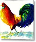 Rooster - Big Napoleon Metal Print