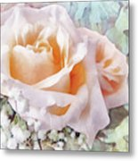 Rose Ivy Metal Print