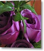 Roses Up Close Metal Print