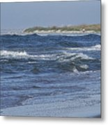 Rough Day At The Beach Metal Print