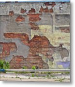 Rough Wall Metal Print