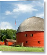 Route 66 Round Barn Metal Print