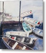 Rowboats Metal Print
