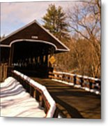 Rowell Bridge Metal Print
