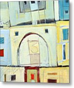 Rowhouse No. 3 Metal Print
