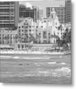 Royal Hawaiian Hotel - Waikiki Metal Print