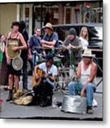 Royal Street Musicians Metal Print