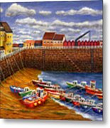 Rozel Harbour - Jersey Metal Print