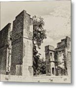 Ruins At Jamestown Metal Print