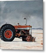 Rusted Sentinel Metal Print by Greg Clibon