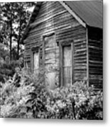 Rustic Homestead - Antique Home Barn Country Rural Metal Print
