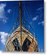 Rusting Boat Metal Print