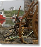 Rusty Anchors-2 Metal Print