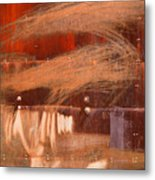 Rusty Container Metal Print